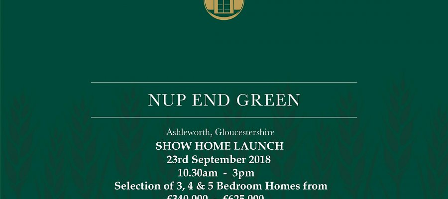 New show home launching soon at Ashleworth