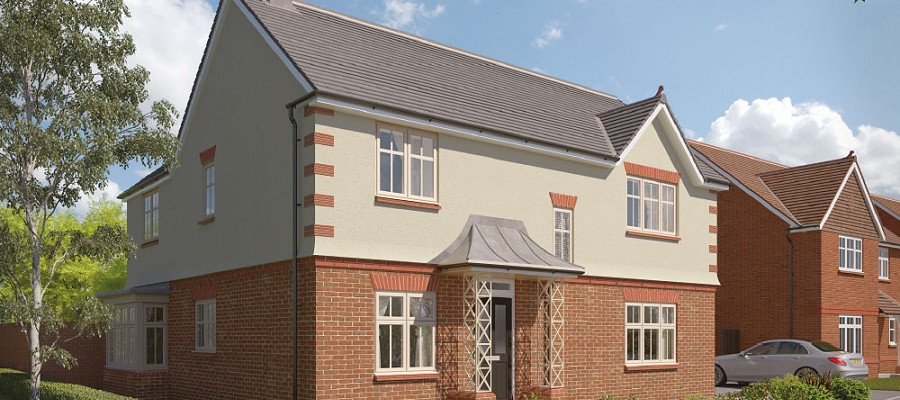 Show home unveiled at Upavon