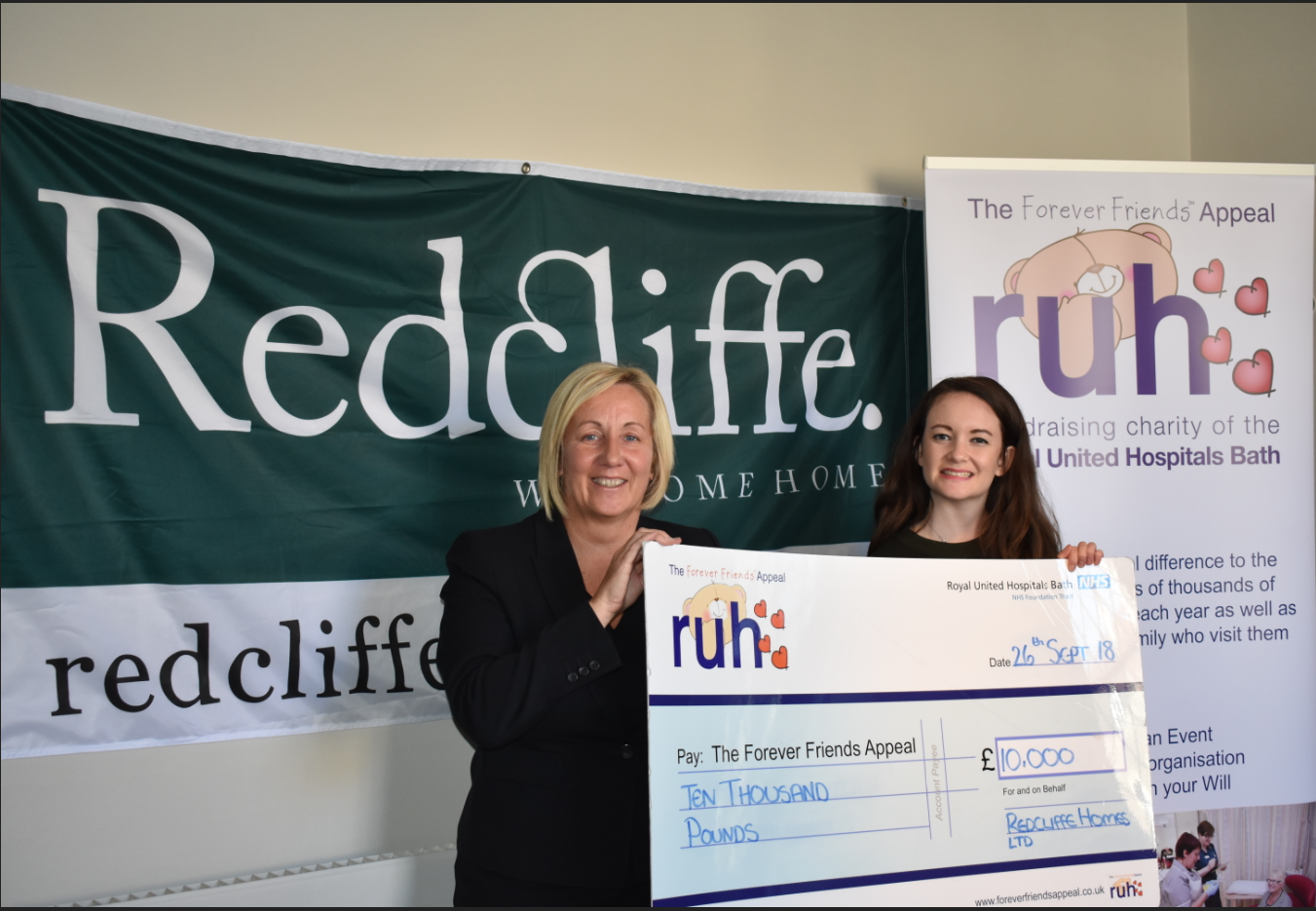 Redcliffe Homes donate to Special Appeals
