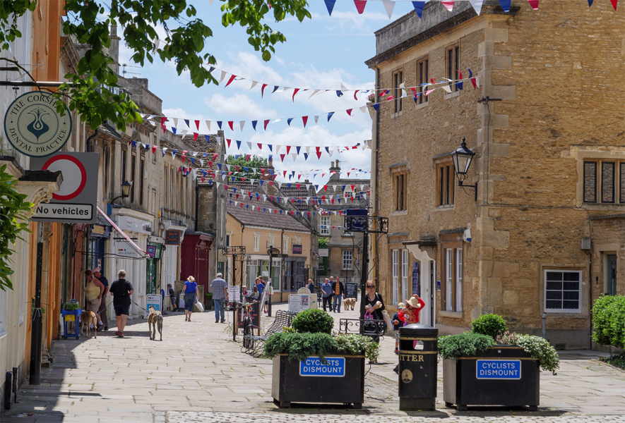 The Sunday Times vote Corsham as one of the top places to live in the South West