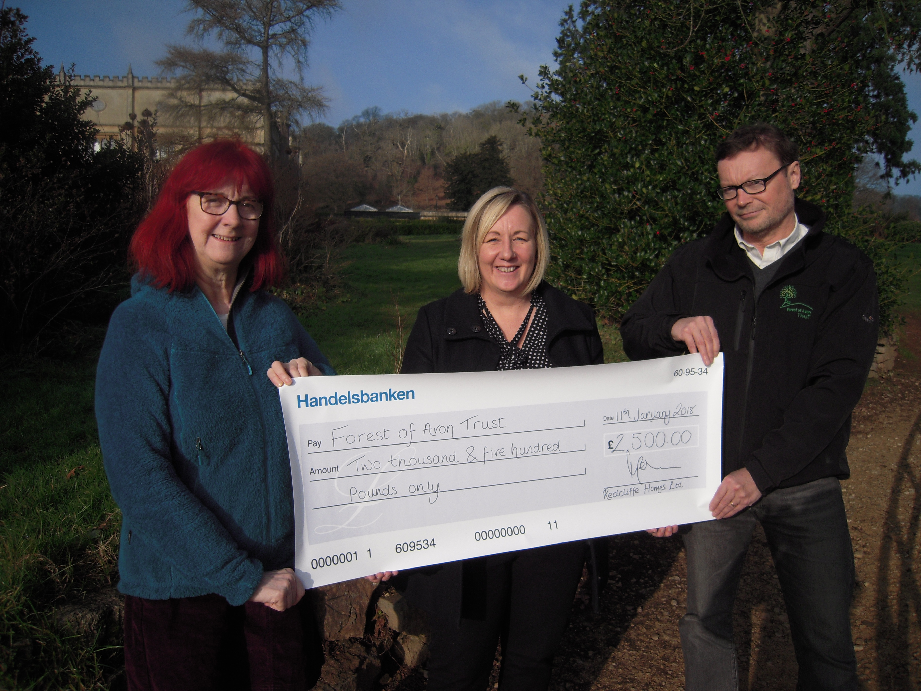 Redcliffe Homes boosts charity funds