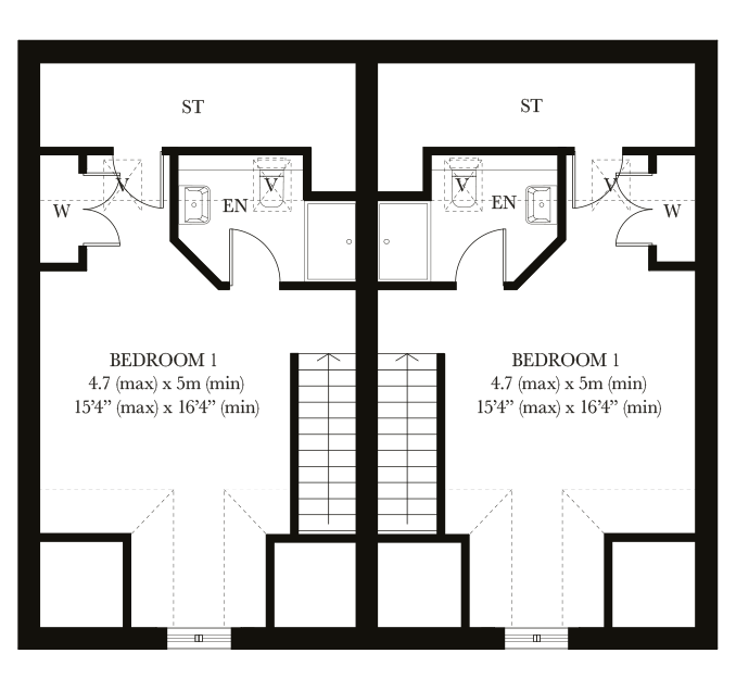 The Lowden second floor plan