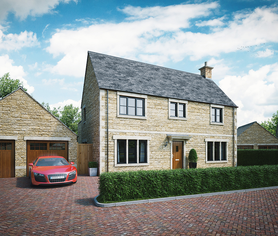Show Home Launch - 'Bownham View', Rodborough