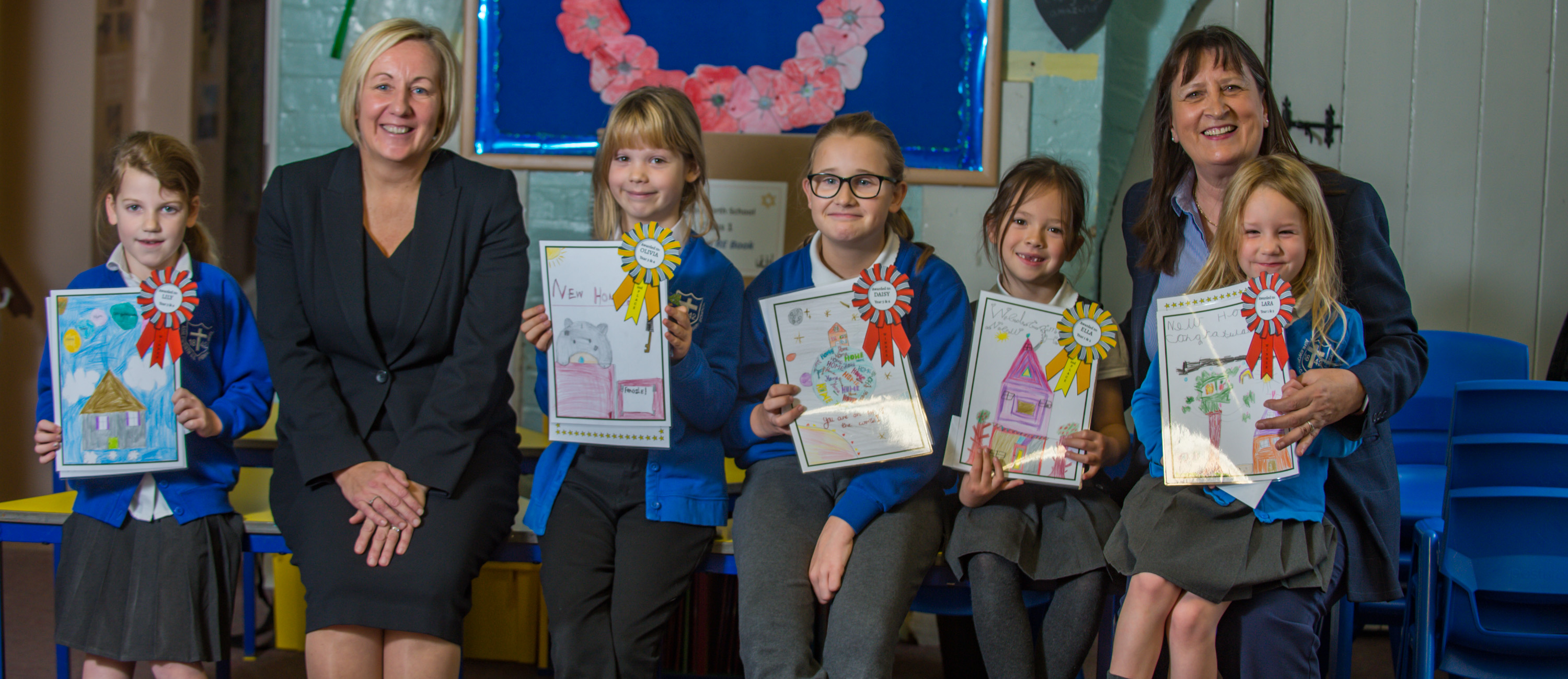 Ashleworth Primary offers new residents a warm welcome