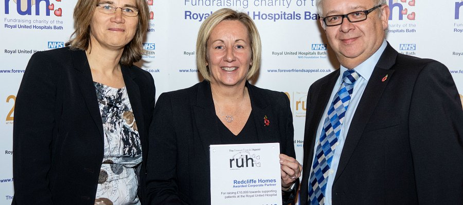 Redcliffe Homes support The Forever Friends Appeal at Bath RUH