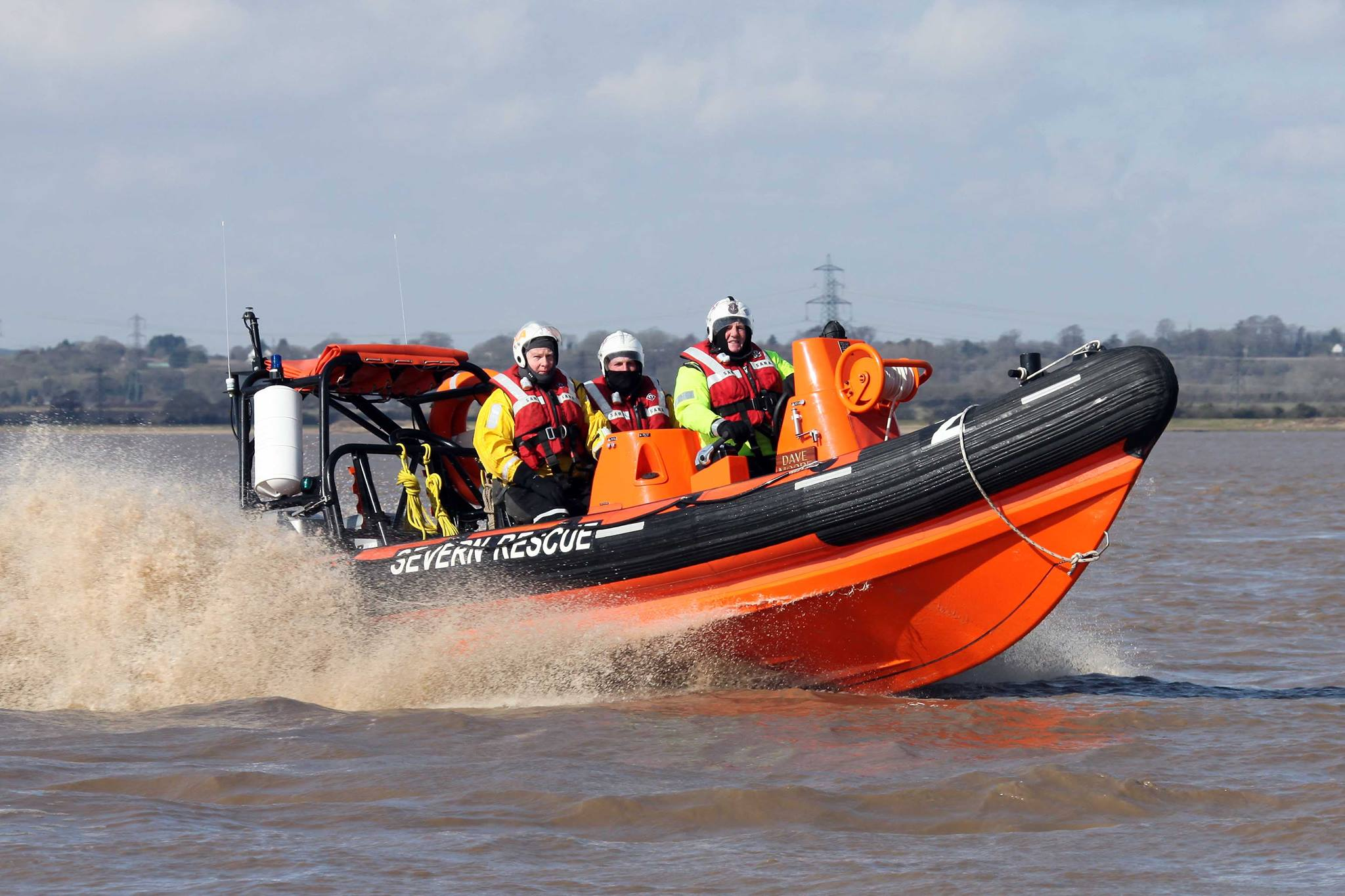 A new lifeboat to help save lives on River Severn is on its way