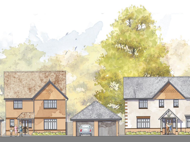 AGENT APPOINTED FOR NEW HOMES IN UPAVON